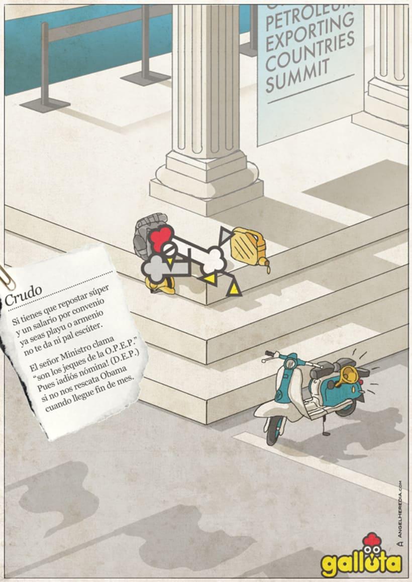 GALLOTA. Humor gráfico y rimas de arte menor. 30