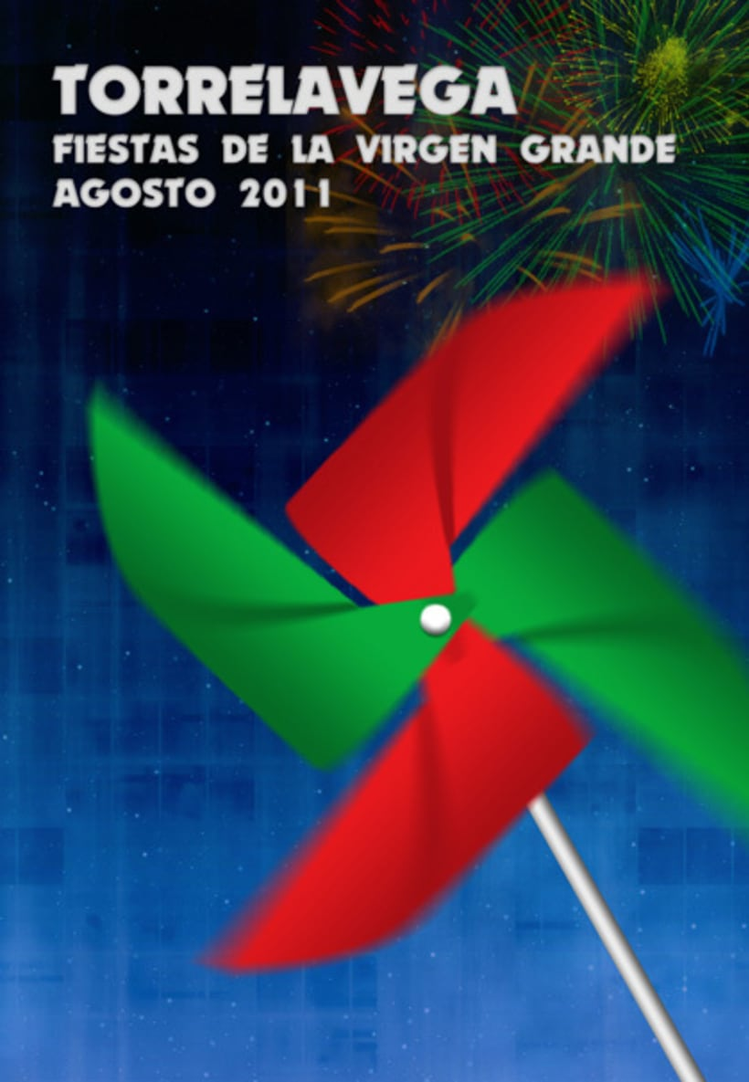 PRIMER PREMIO cartel fiestas de Torrelavega 2