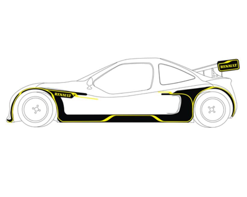 Rotulación Barqueta de Rally 1