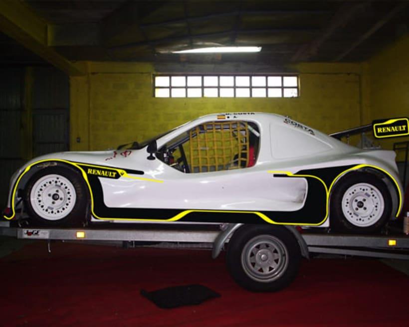 Rotulación Barqueta de Rally 2