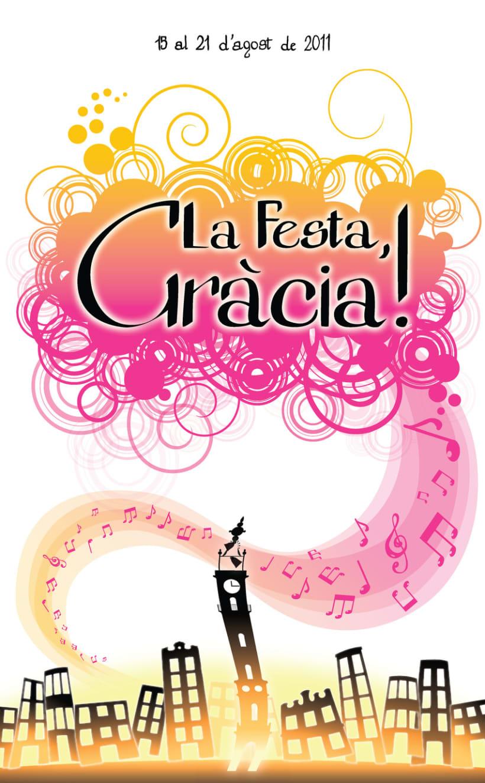 Concurso Cartel Festa Gracia 1