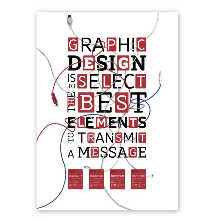 Interactive Typography Poster (Halle) 4