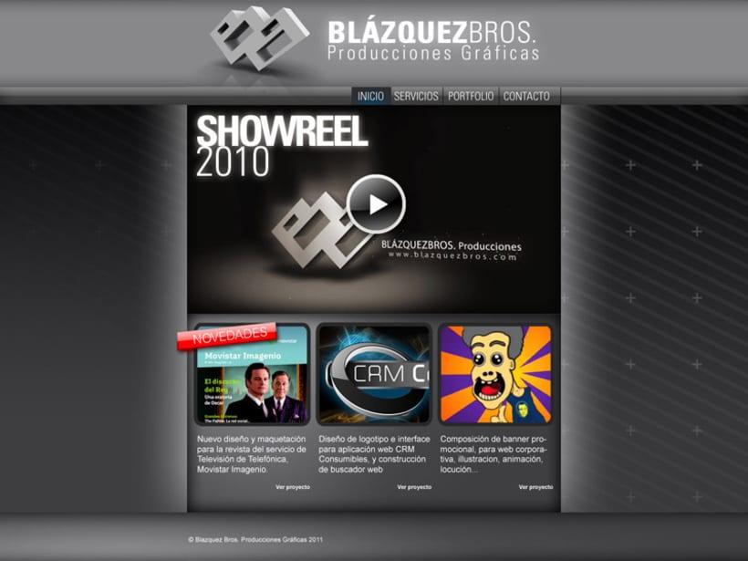 Web Blazquez Bros 1