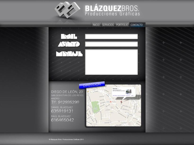 Web Blazquez Bros 4