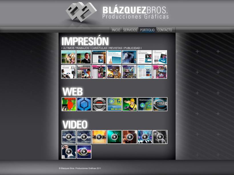 Web Blazquez Bros 3