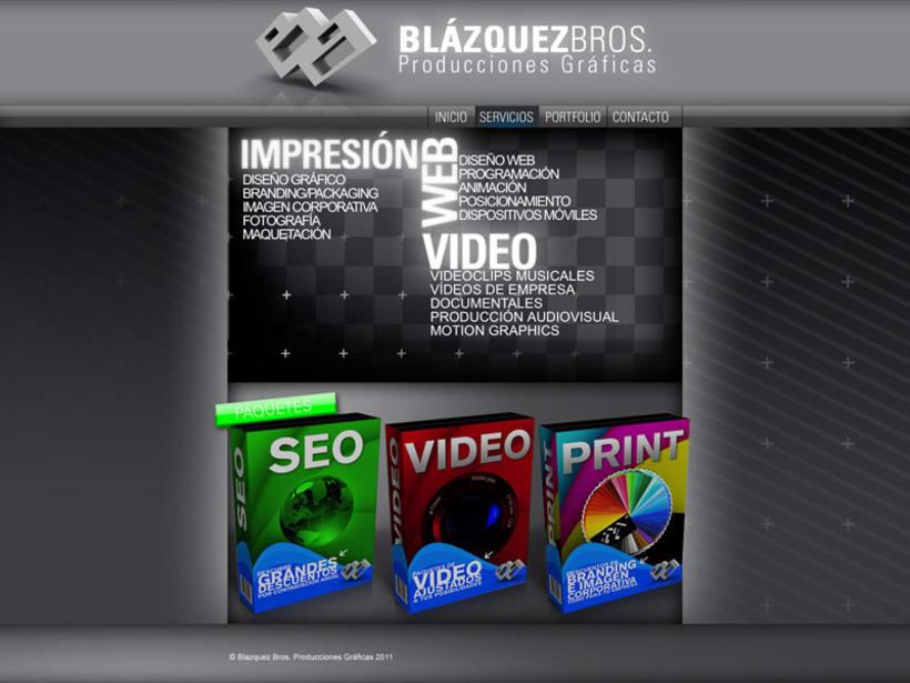 Web Blazquez Bros 2