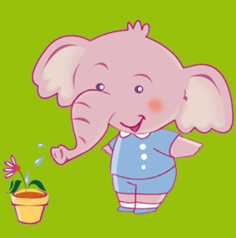 creación de mascota para kindergarden 4