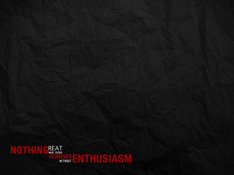Enthusiasm 1