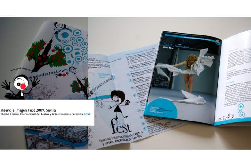 Imagen y diseño Fest 2009 4