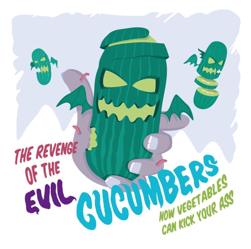 Evil Cucumbers 1