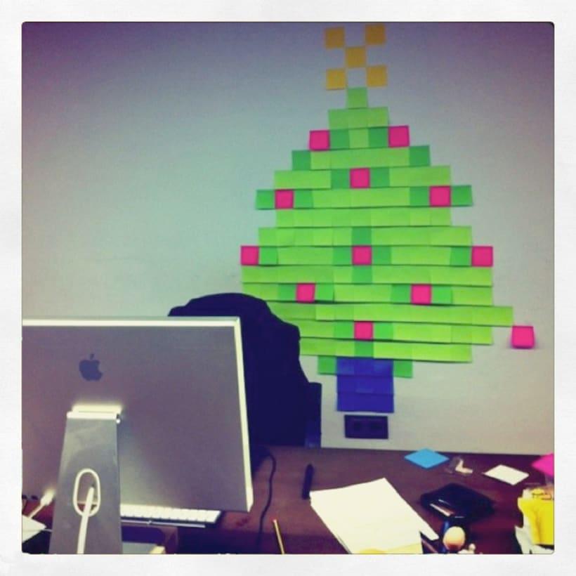 Post-it tree  4