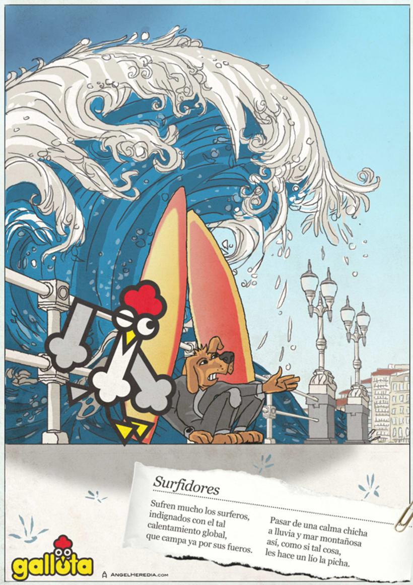 GALLOTA. Humor gráfico y rimas de arte menor. 20