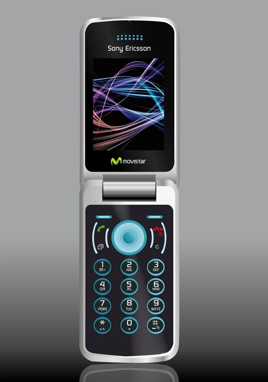 Ilustración teléfono móvil 1