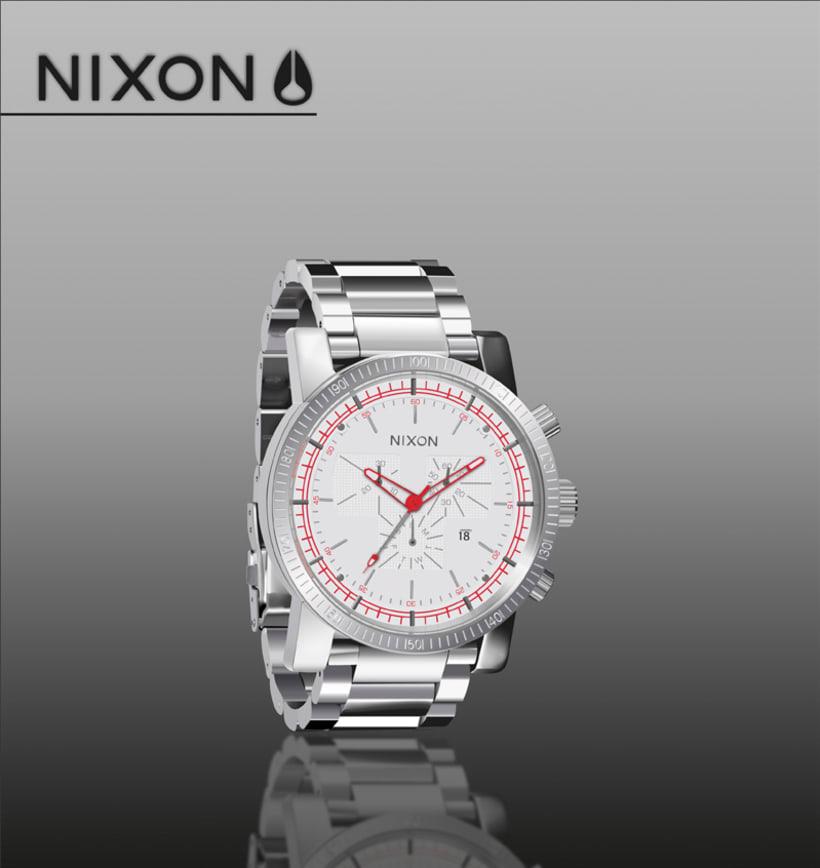 Ilustración Reloj Nixon 1