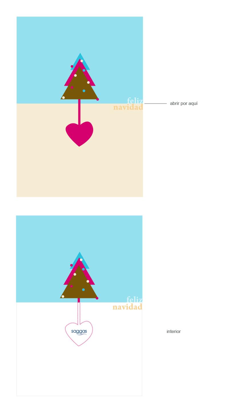 Felicitación Navidad Saggas 3
