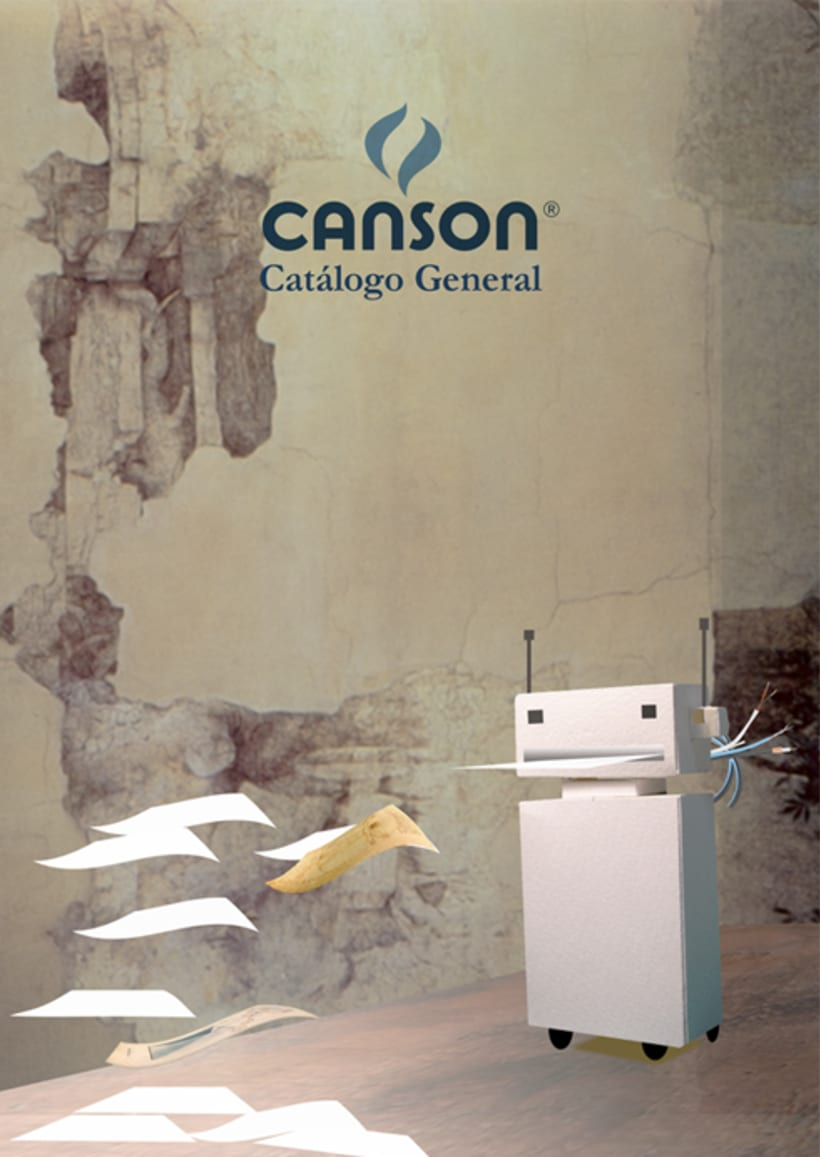 Canson_catalog cover by Marcela Gallo 2