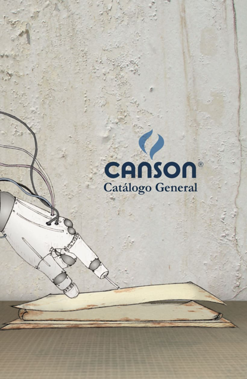 Canson_catalog cover by Marcela Gallo 1