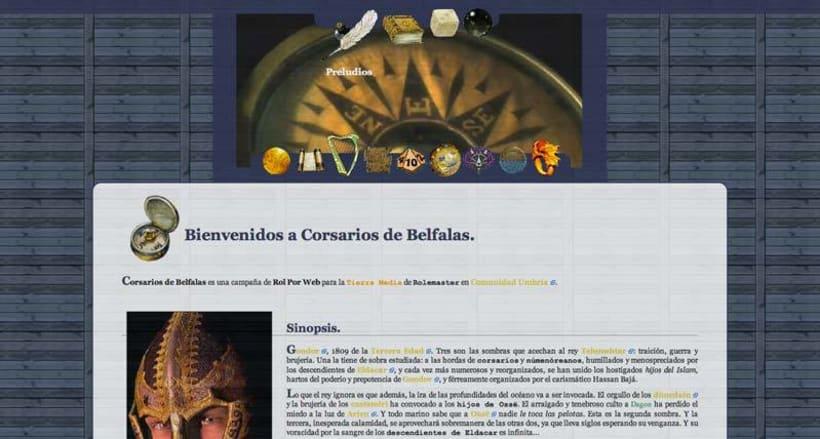 Sitio web: Corsarios de Belfalas 4