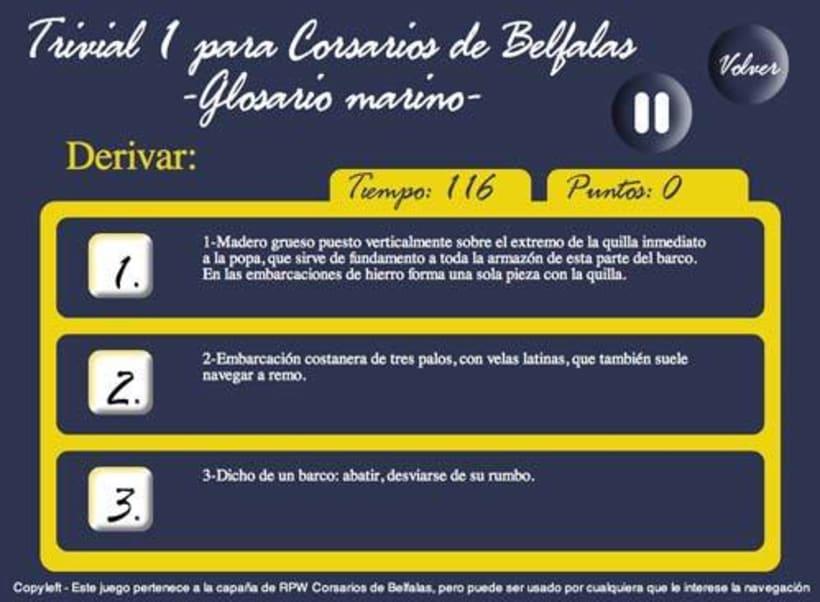 Sitio web: Corsarios de Belfalas 5