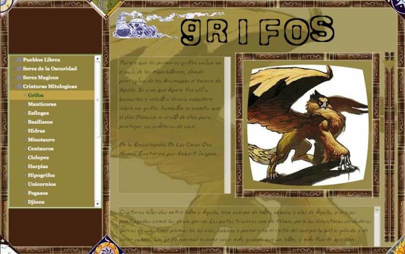 Sitio web: Enciclopedia De Criaturas 6