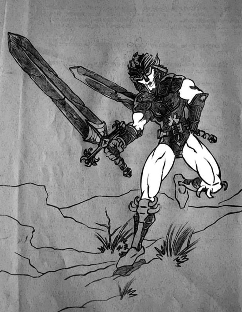 Ilustraciones Blanco y Negro 15