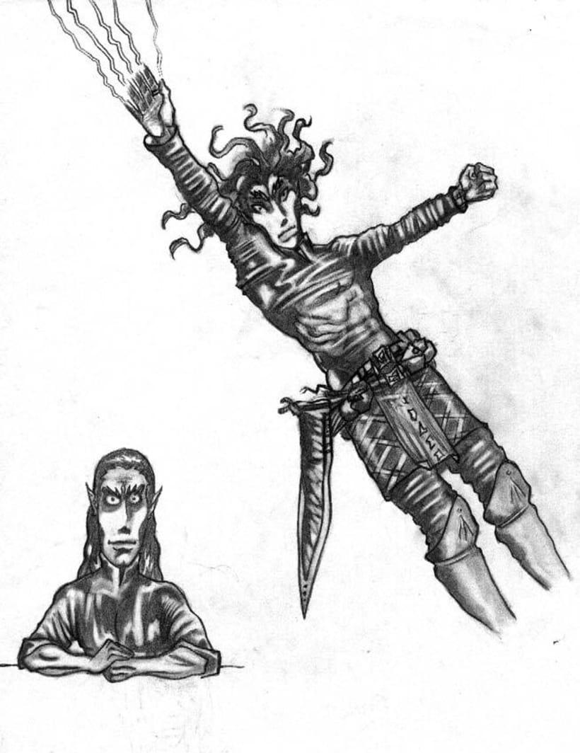 Ilustraciones Blanco y Negro 14