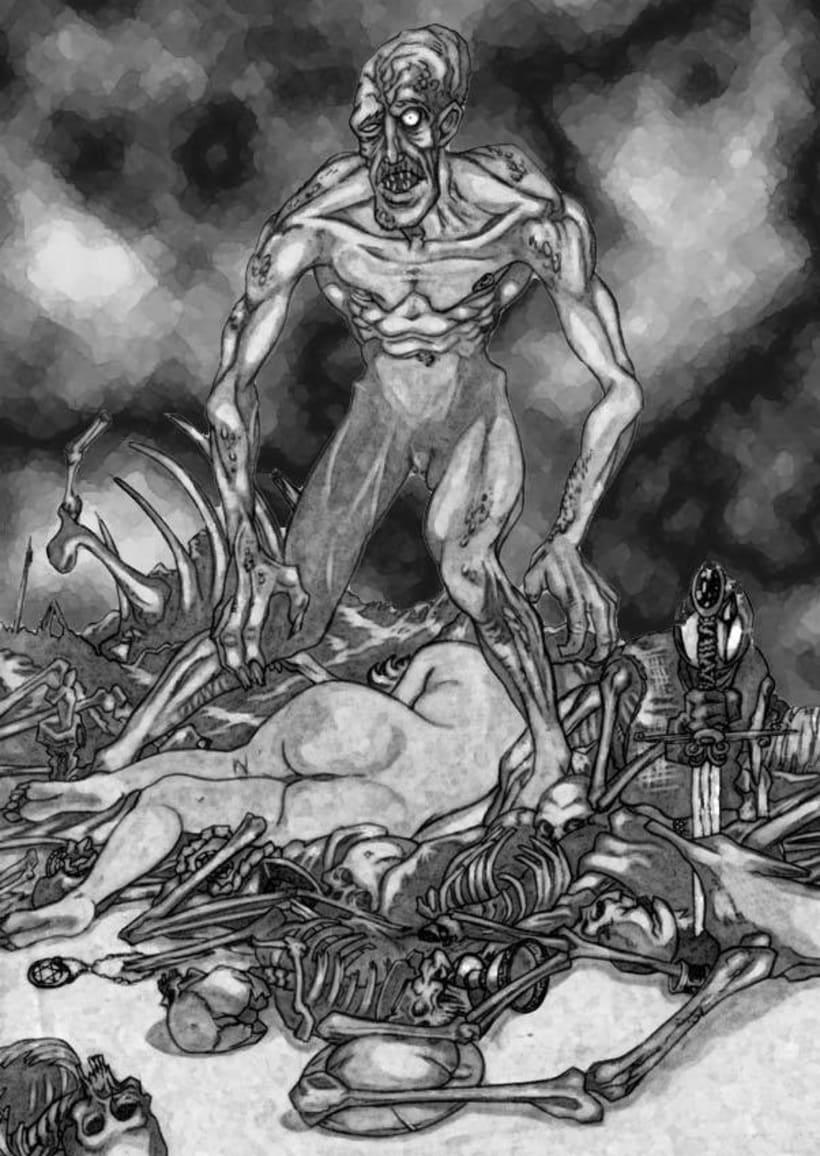 Ilustraciones Blanco y Negro 8
