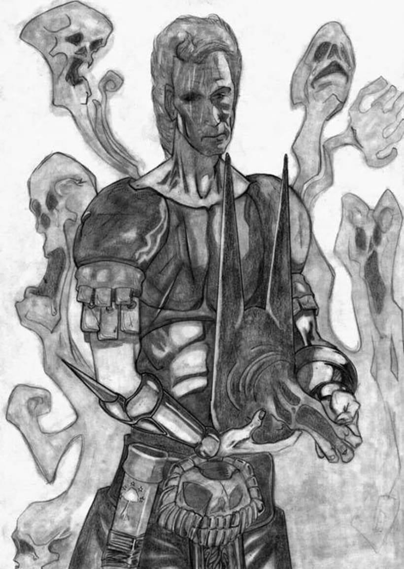 Ilustraciones Blanco y Negro 6