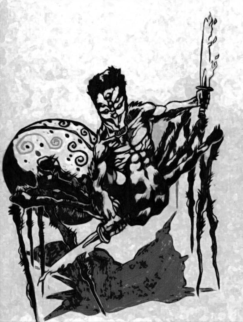 Ilustraciones Blanco y Negro 2