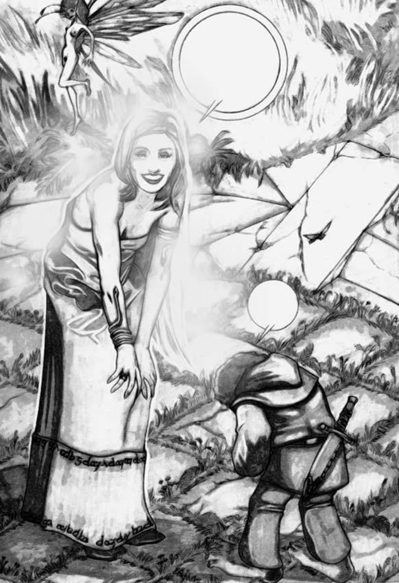 Ilustraciones Blanco y Negro 5