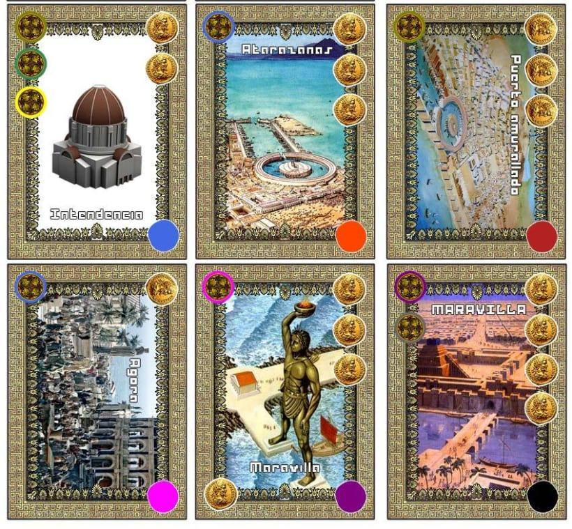 Juego de cartas: TALASOCRACIA 16