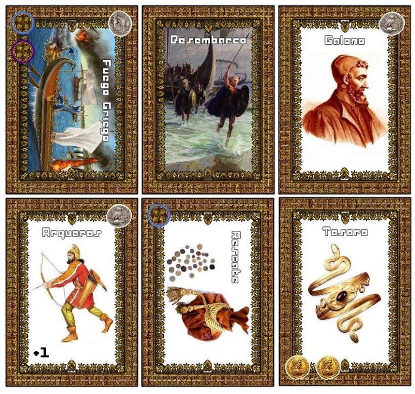 Juego de cartas: TALASOCRACIA 7