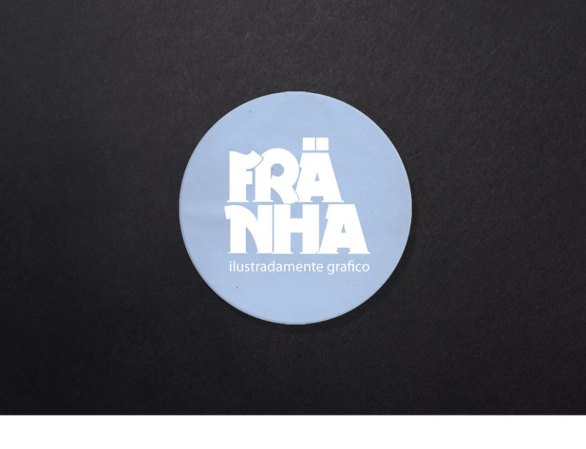 Franha, logotipo, tarjeta de visita, portfolio web  2