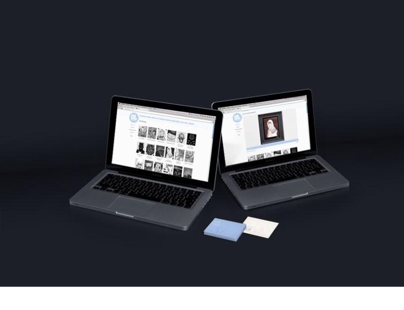 Franha, logotipo, tarjeta de visita, portfolio web  3