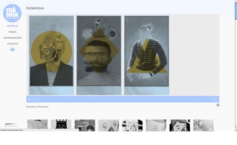 Franha, logotipo, tarjeta de visita, portfolio web  5