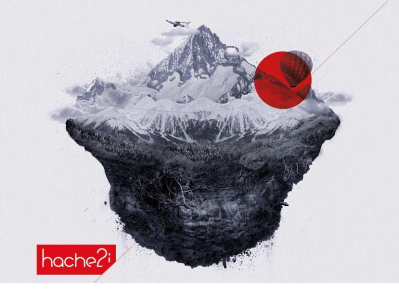 Carteles corporativos, Hache2i 4