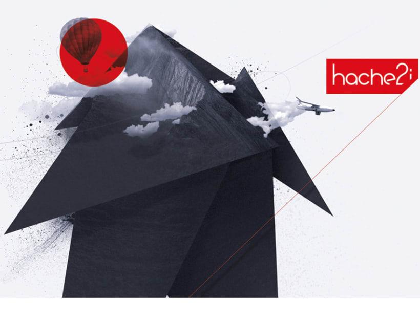 Carteles corporativos, Hache2i 3