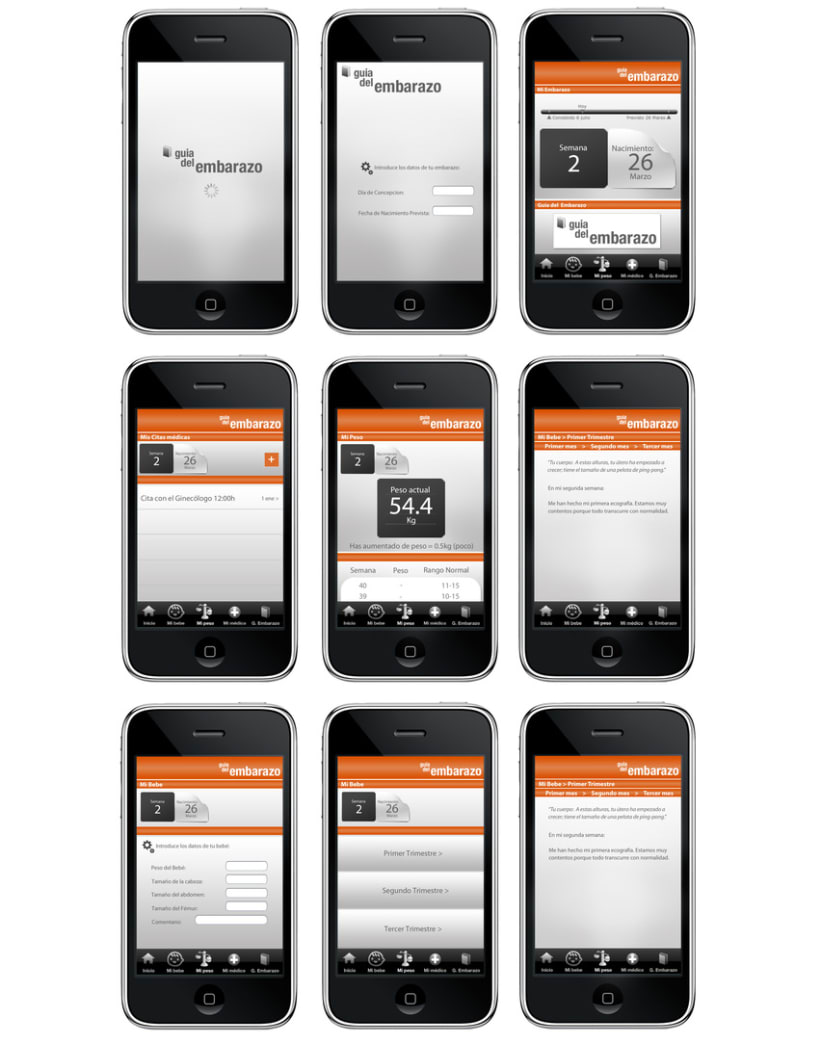 dise o app smartphone domestika