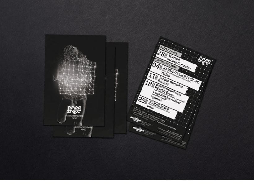 Cartel y flyers para Magnet 3