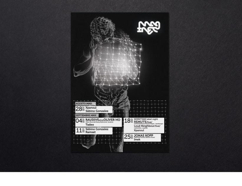 Cartel y flyers para Magnet 2