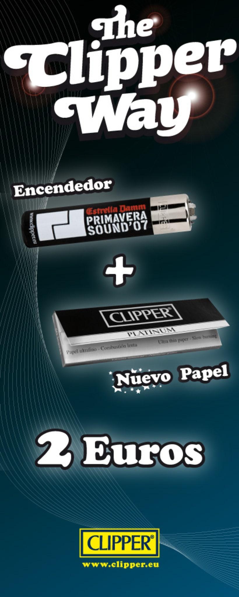 Clipper Primavera Sound  2