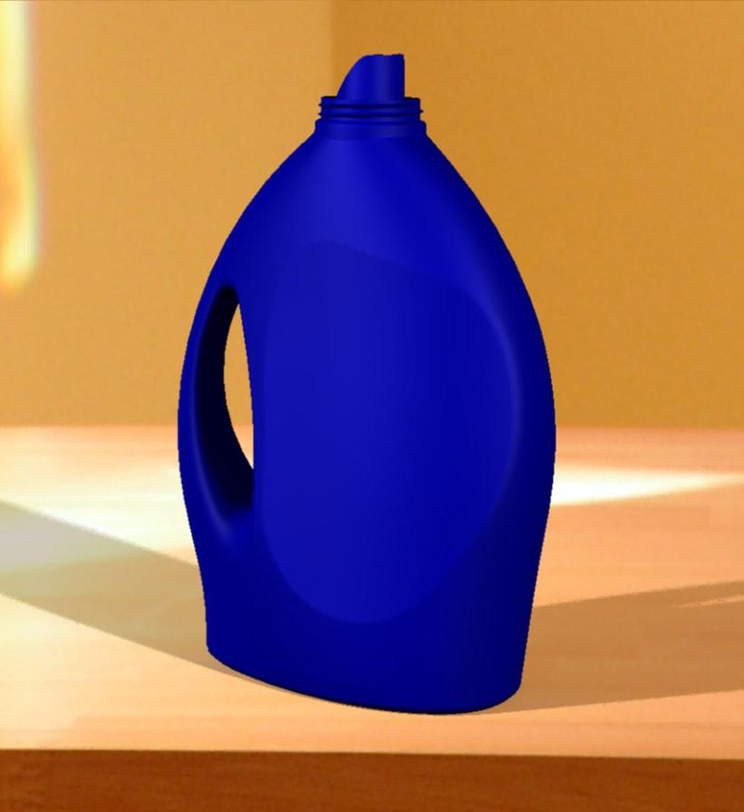 Botella de detergente 7