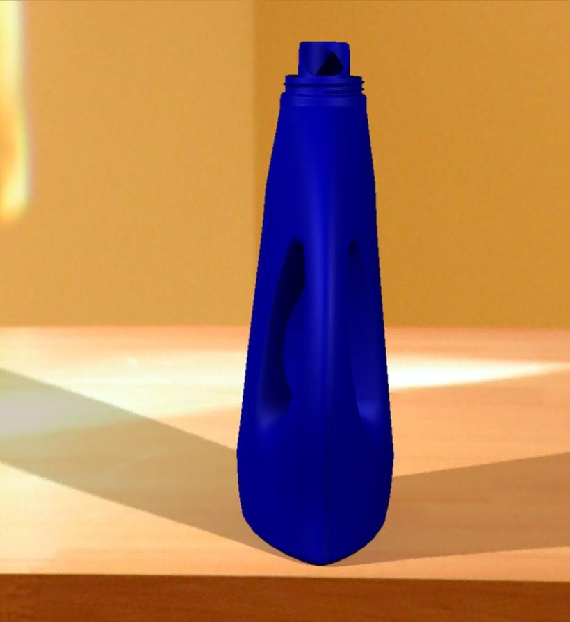 Botella de detergente 9