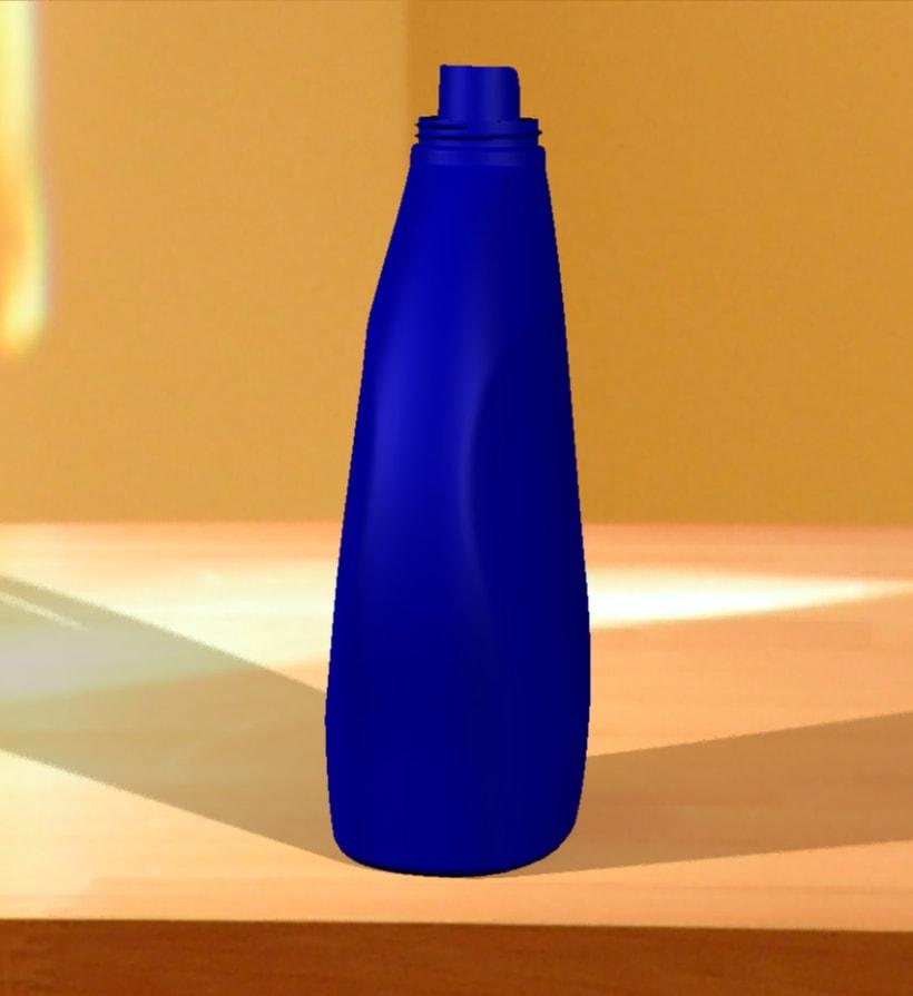 Botella de detergente 8