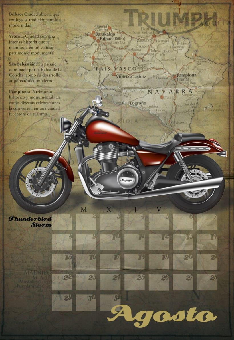 Calendario Triumph 2