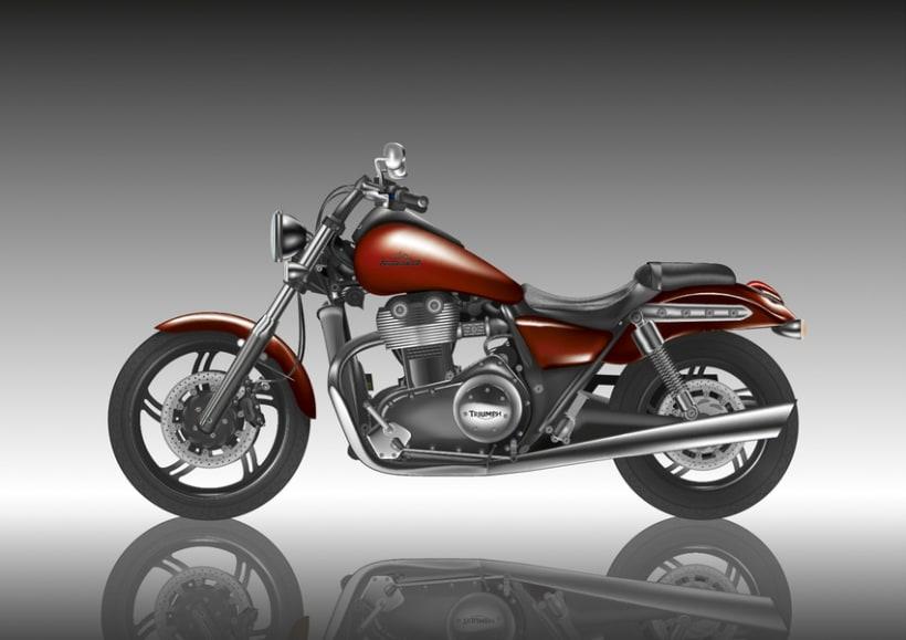 Moto Triumph 2