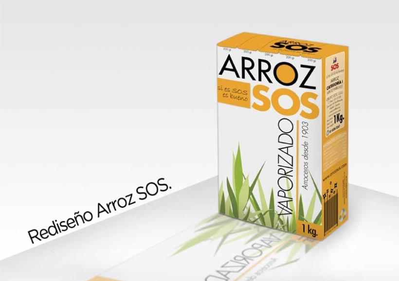 Packaging Arroz SOS 3