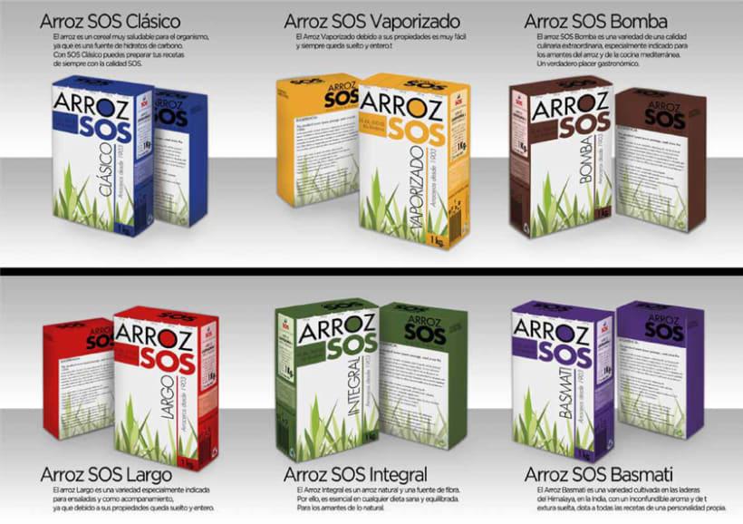 Packaging Arroz SOS 2
