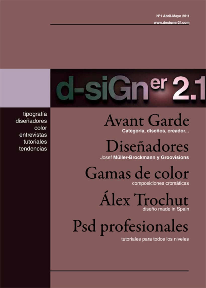 Maquetación y diseño revista 2