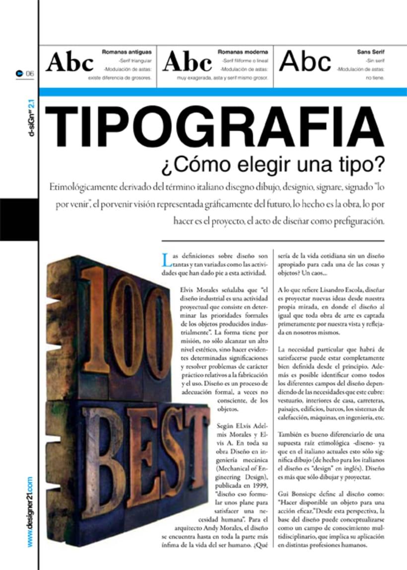 Maquetación y diseño revista 4